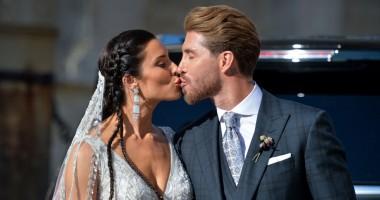 Свадьба Рамоса: яркие фото с важного события в жизни капитана Реала