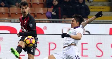 Милан - Фиорентина 2:1 Видео голов и обзор матча чемпионата Италии