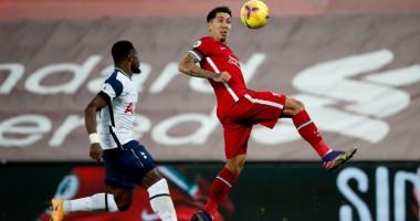 Ливерпуль - Тоттенхэм 2:1 видео голов и обзор матча чемпионата Англии
