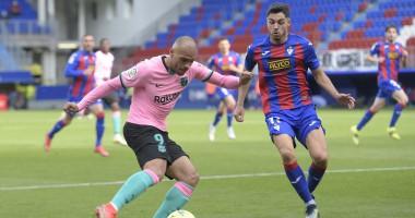 Эйбар — Барселона 0:1 видео гола и обзор матча чемпионата Испании