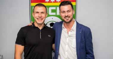 Милевский представлен в качестве футболиста российского Тосно