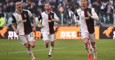 Ювентус - Фиорентина 3:0 видео голов и обзор матча чемпионата Италии