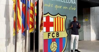 Барселона представила Дембеле