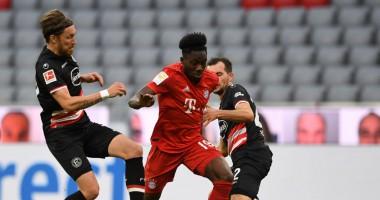 Бавария - Фортуна 5:0 видео голов и обзор матча Бундеслиги