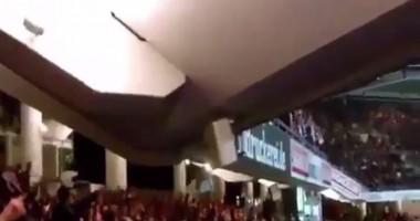 Фанаты немецкого клуба едва не сломали трибуну на стадионе