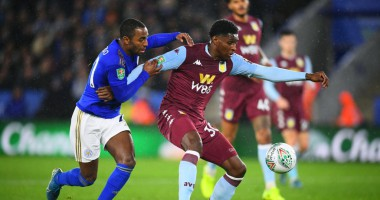 Лестер - Астон Вилла 1:1 видео голов и обзор матча Кубка английской лиги