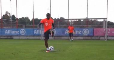 Дуглас Коста забил пенальти спиной к воротам
