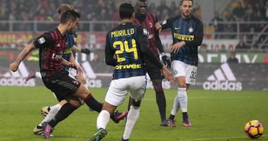Интер ушел от поражения в голевом матче с Миланом