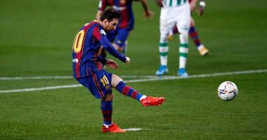 Барселона - Бетис 5:2 видео голов и обзор матча чемпионата Испании