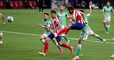Атлетико - Бетис 1:0 видео гола и обзор матча чемпионата Испании