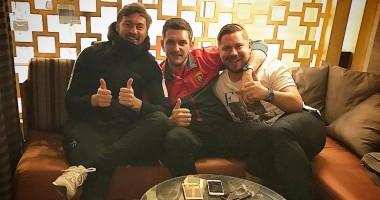 Вспоминаем киевские времена – Милевский встретился с экс-игроком Динамо