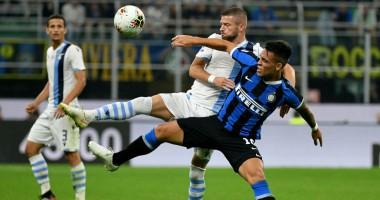 Интер - Лацио 1:0 видео гола и обзор матча чемпионата Италии