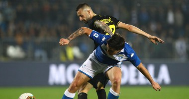 Брешия - Интер 1:2 Видео голов и обзор матча Серии А