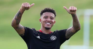 Санчо приступил к тренировчным занятиям с Манчестер Юнайтед