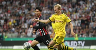 Айнтрахт - Боруссия Д 2:2 Видео голов и обзор матча Бундеслиги