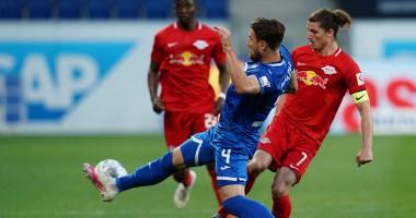 Хоффенхайм - Лейпциг 0:2: видео голов и обзор матча чемпионата Германии