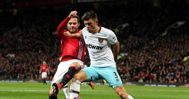 Манчестер Юнайтед - Вест Хэм Юнайтед 1:1 Видео голов и обзор матча чемпионата Англии