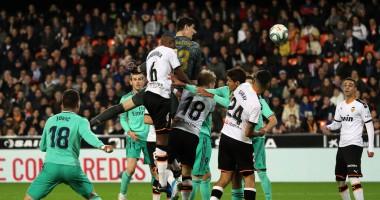 Валенсия - Реал 1:1 видео голов и обзор матча чемпионата Испании