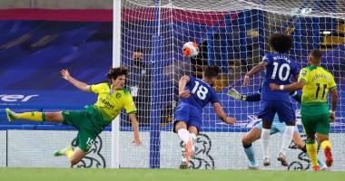 Челси - Норвич 1:0 видео гола и обзор матча чемпионата Англии
