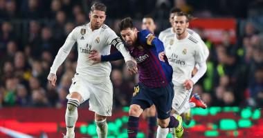 Барселона - Реал 1:1 видео голов и обзор матча Кубка Испании
