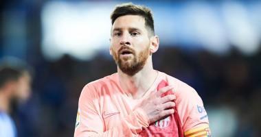 Барселона показала тренировку команды глазами Месси