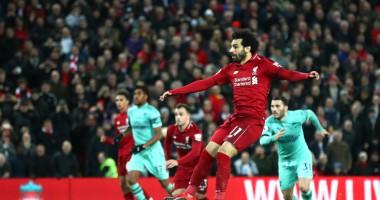 Ливерпуль - Арсенал 5:1 Видео голов и обзор матча АПЛ