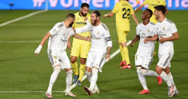 Реал - Вильярреал 2:1 видео голов и обзор матча чемпионата Испании