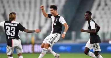 Ювентус - Сампдория 2:0 видео голов и обзор матча чемпионата Италии