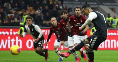 Милан - Ювентус 1:1 видео голов и обзор матча Кубка Италии
