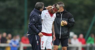 Французскому игроку оторвали кусок уха в первом матче за новую команду
