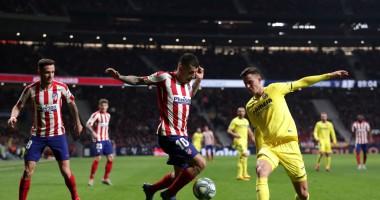 Атлетико - Вильярреал 3:1 Видео голов и обзор матча чемпионата Испании