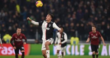 Ювентус - Милан: видео онлайн-трансляция матча Кубка Италии