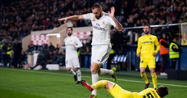 Вильярреал - Реал 2:2 видео голов и обзор матча чемпионата Испании
