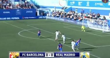 Как юный талант Барселоны забил Реалу на 8-й секунде после идеального паса пяткой