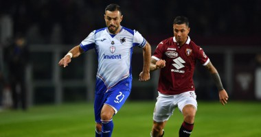 Торино - Сампдория 1:3 видео голов и обзор матча чемпионата Италии