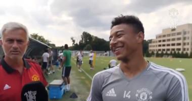 Главный тренер Манчестер Юнайтед затроллил своего игрока во время интервью