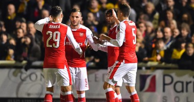 Саттон Юнайтед - Арсенал 0:2 Видео голов и обзор матча Кубка Англии