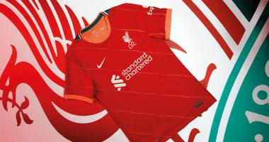 Ливерпуль представил новую домашнюю форму на следующий сезон