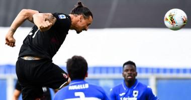 Сампдория - Милан 1:4 видео голов и обзор матча чемпионата Италии