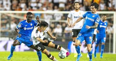 Валенсия - Хетафе 3:3 видео голов и обзор матча Ла Лиги