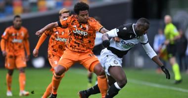Удинезе — Ювентус 1:2 видео голов и обзор матча чемпионата Италии