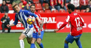 Спортинг  Хихон - Алавес 2:4 Видео голов и обзор матча чемпионата Испании