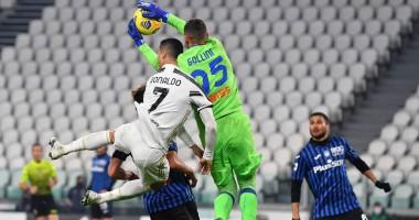 Ювентус - Аталанта 1:1 видео голов и обзор матча чемпионата Италии