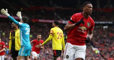 Манчестер Юнайтед - Уотфорд 3:0 видео голов и обзор матча чемпионата Англии