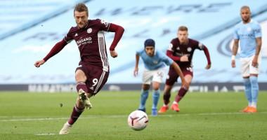 Манчестер Сити - Лестер 2:5 видео голов и обзор матча чемпионата Англии