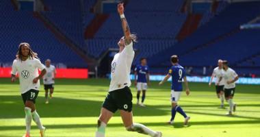 Шальке - Вольфсбург 1:4 видео голов и обзор матча Бундеслиги
