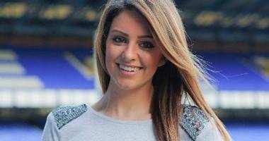 Ведущая пообещала выступить в бикини, если Эвертон выиграет Премьер-лигу