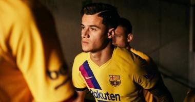Барселона показала выездной комплект формы на сезон-2019/20