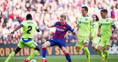 Барселона - Хетафе 2:1 видео голов и обзор матча чемпионата Испании
