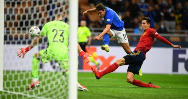Италия — Испания 1:2 видео голов и обзор полуфинала Лиги наций